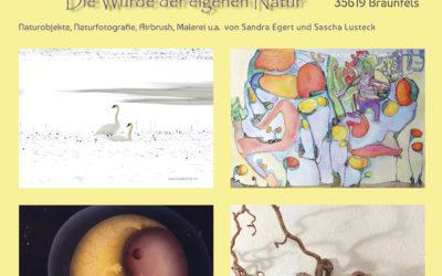 Naturkunst-Ausstellung am 2. und 3. Juni 2018