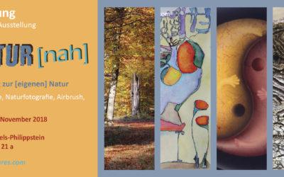 Atelier- Ausstellung am 10. & 11. November 2018