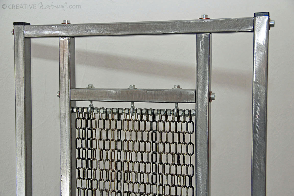 Kettenstuhl Detailansicht Lehne