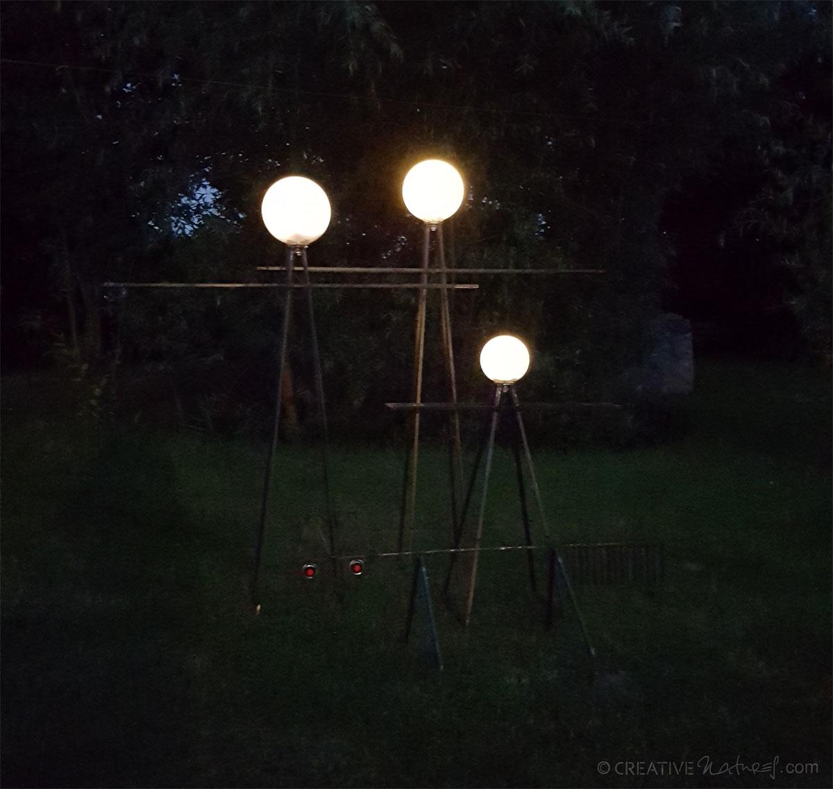 Lampenfamilie Lichtschein