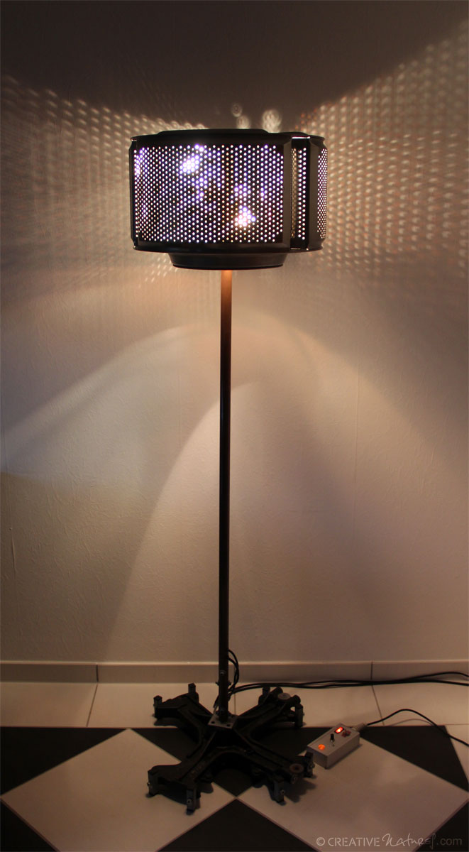 Waschmaschinenlampe Lichtschein2